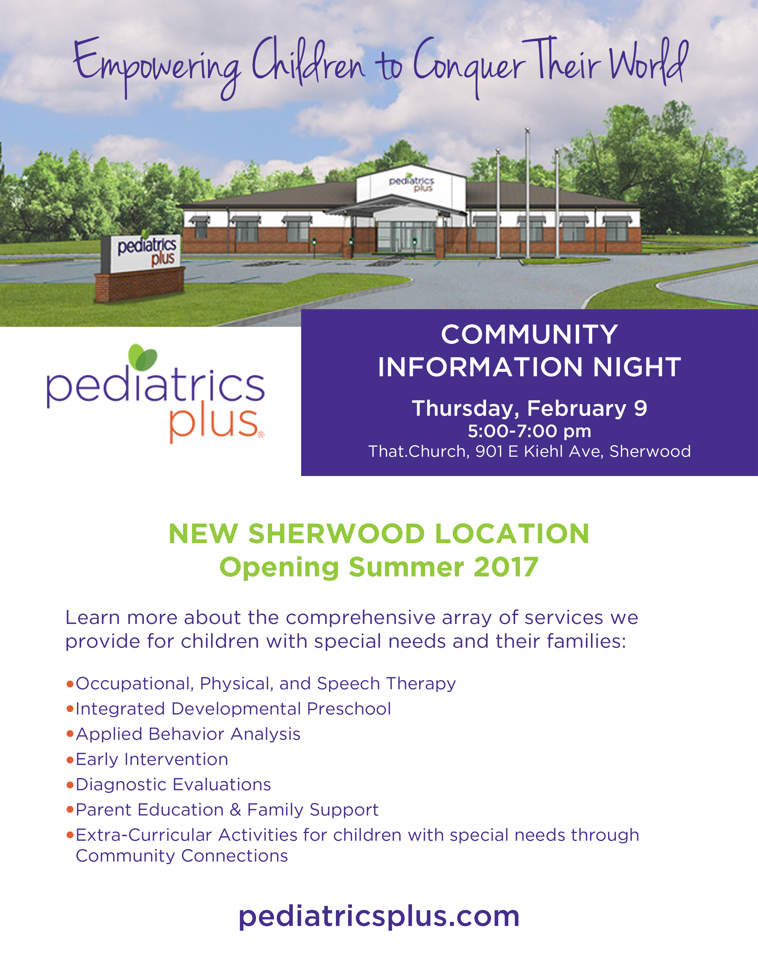 Sherwood Community Information Night - Feb 9