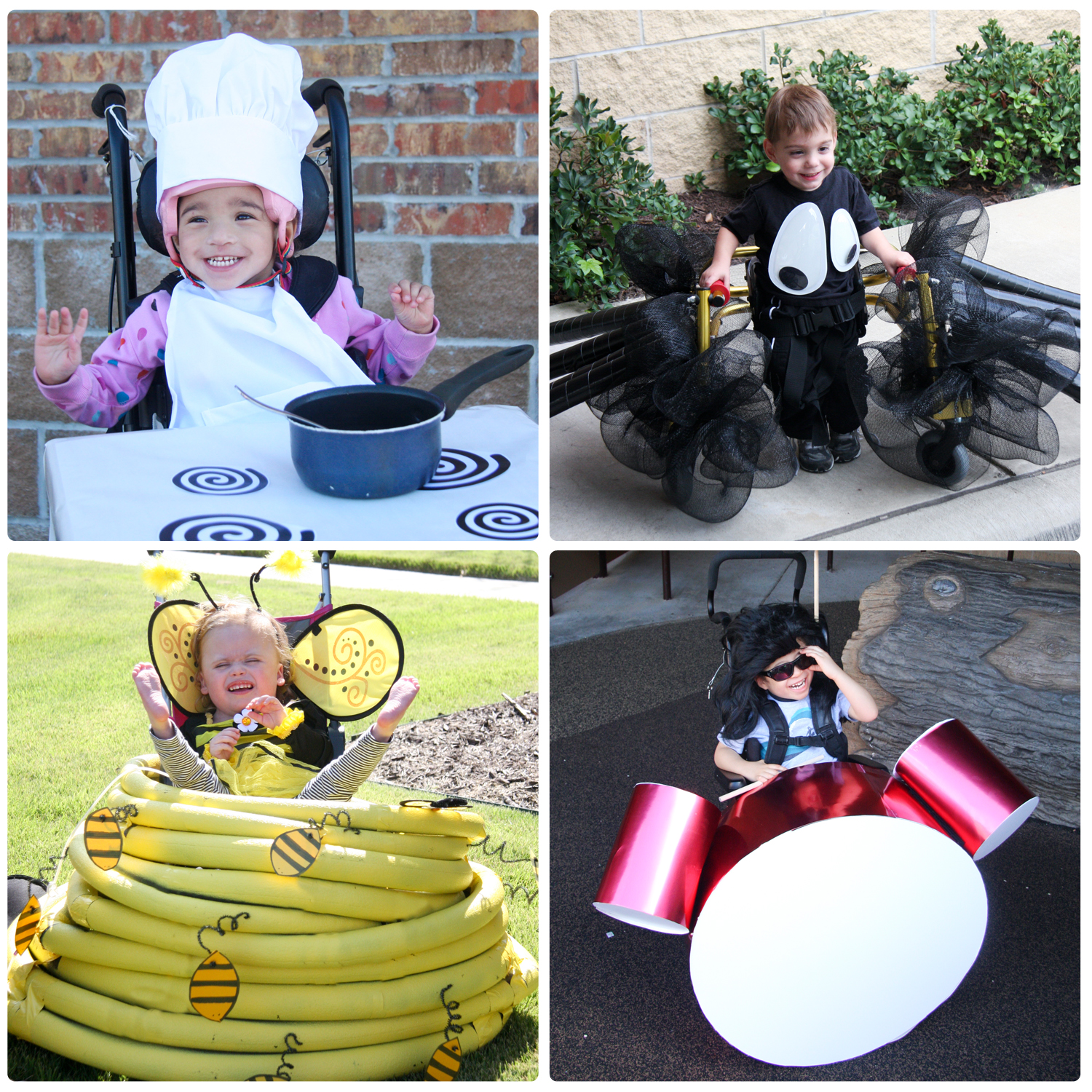 Halloween Costume Ideas for Wheelchairs and Walkers