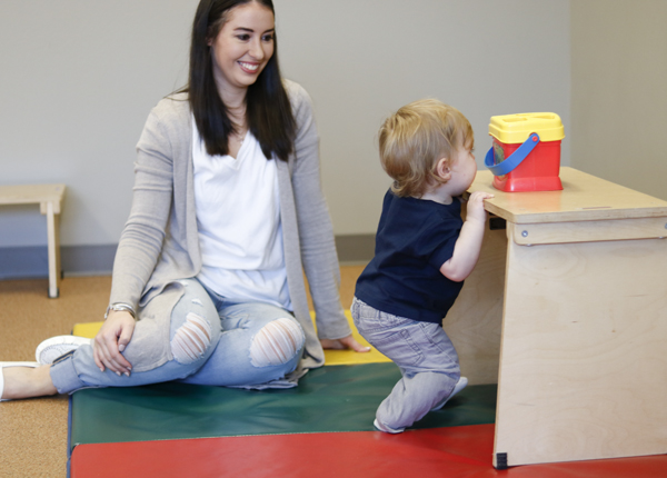 Milestone Moments: PT Tips for 9-12 Months