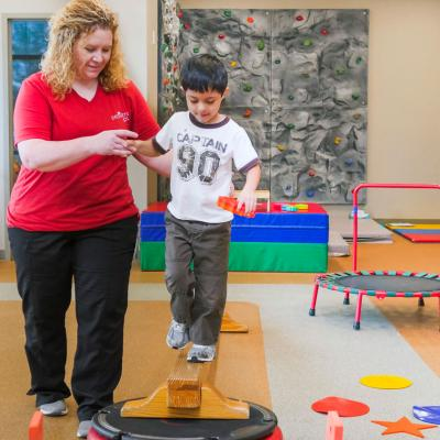 Conway Pediatrics Plus Physical Therapy Gym