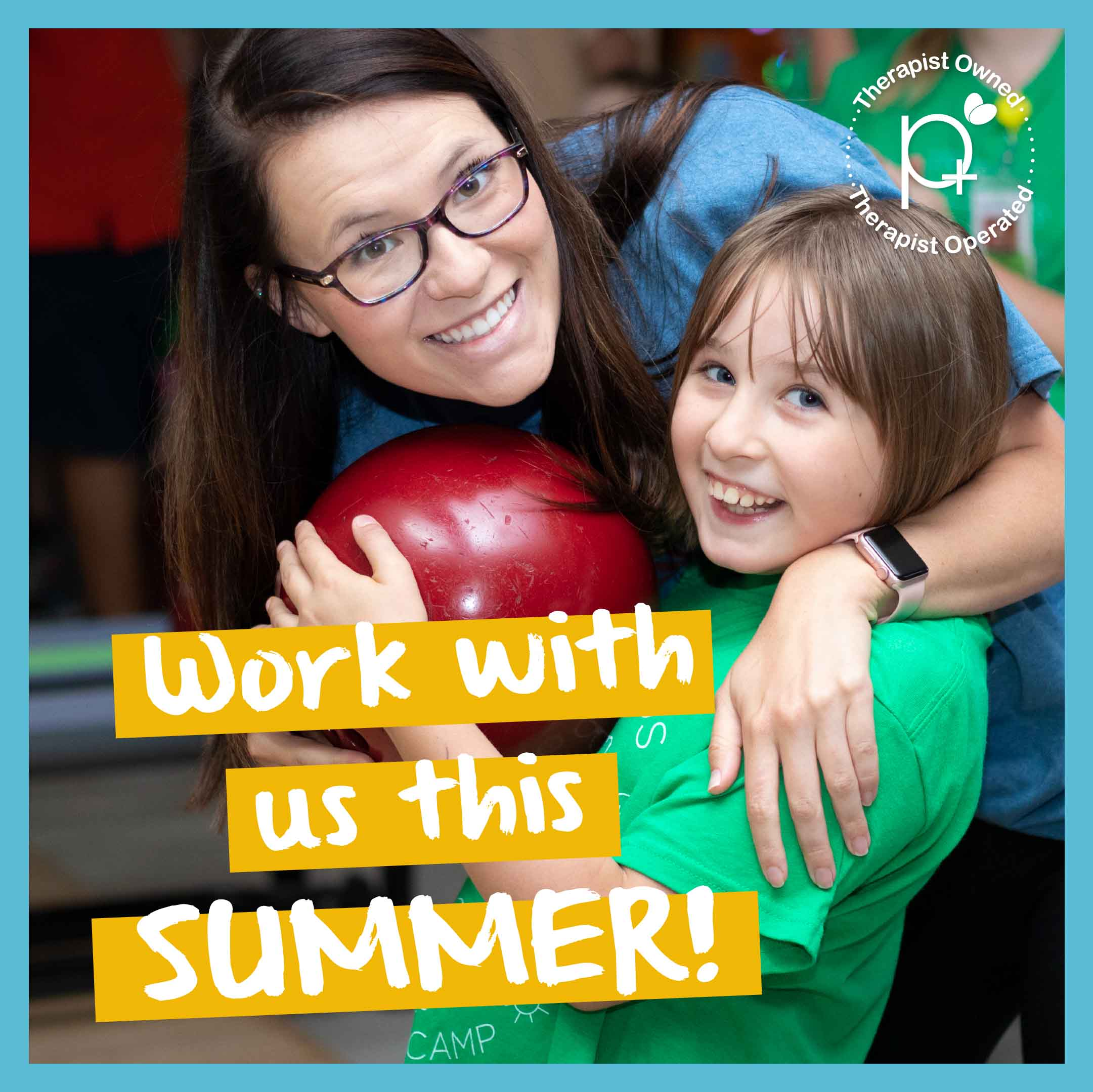 Work with us this Summer!